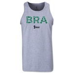 Brazil 2014 FIFA World Cup Brazil(TM) Men's Elements Tank Top (Grey)