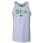 Brazil 2014 FIFA World Cup Brazil(TM) Men's Elements Tank Top (White)