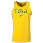 Brazil 2014 FIFA World Cup Brazil(TM) Men's Elements Tank Top (Yellow)