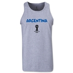Argentina 2014 FIFA World Cup Brazil(TM) Men's Core Tank Top (Grey)