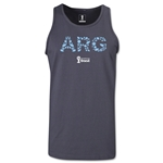 Argentina 2014 FIFA World Cup Brazil(TM) Men's Elements Tank Top (Dark Grey)