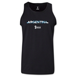 Argentina 2014 FIFA World Cup Brazil(TM) Men's Palm Tank Top (Black)