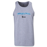 Argentina 2014 FIFA World Cup Brazil(TM) Men's Palm Tank Top (Grey)