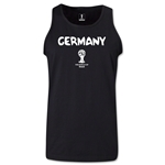 Germany 2014 FIFA World Cup Brazil(TM) Men's Core Tank Top (Black)