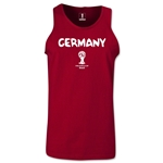 Germany 2014 FIFA World Cup Brazil(TM) Men's Core Tank Top (Cardinal)