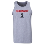 Germany 2014 FIFA World Cup Brazil(TM) Men's Core Tank Top (Grey)