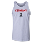Germany 2014 FIFA World Cup Brazil(TM) Men's Core Tank Top (White)