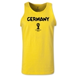 Germany 2014 FIFA World Cup Brazil(TM) Men's Core Tank Top (Yellow)