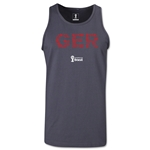 Germany 2014 FIFA World Cup Brazil(TM) Men's Elements Tank Top (Dark Grey)