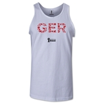 Germany 2014 FIFA World Cup Brazil(TM) Men's Elements Tank Top (White)