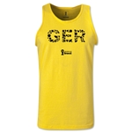 Germany 2014 FIFA World Cup Brazil(TM) Men's Elements Tank Top (Yellow)