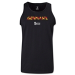 Germany 2014 FIFA World Cup Brazil(TM) Men's Palm Tank Top (Black)