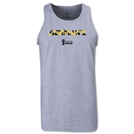Germany 2014 FIFA World Cup Brazil(TM) Men's Palm Tank Top (Grey)