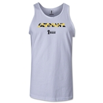 Germany 2014 FIFA World Cup Brazil(TM) Men's Palm Tank Top (White)