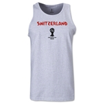 Switzerland 2014 FIFA World Cup Brazil(TM) Men's Core Tank Top (Ash)