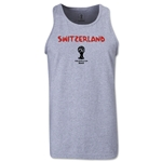 Switzerland 2014 FIFA World Cup Brazil(TM) Men's Core Tank Top (Grey)