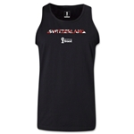 Switzerland 2014 FIFA World Cup Brazil(TM) Men's Elements Tank Top (Black)