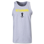 Ecuador 2014 FIFA World Cup Brazil(TM) Men's Core Tank Top (Ash)