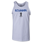 Ecuador 2014 FIFA World Cup Brazil(TM) Men's Core Tank Top (White)