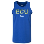 Ecuador 2014 FIFA World Cup Brazil(TM) Men's Elements Tank Top (Royal)