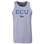 Ecuador 2014 FIFA World Cup Brazil(TM) Men's Elements Tank Top (Grey)