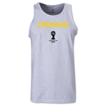 Colombia 2014 FIFA World Cup Brazil(TM) Men's Core Tank Top (Ash)