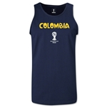 Colombia 2014 FIFA World Cup Brazil(TM) Men's Core Tank Top (Navy)