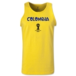 Colombia 2014 FIFA World Cup Brazil(TM) Men's Core Tank Top (Yellow)