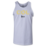 Colombia 2014 FIFA World Cup Brazil(TM) Men's Elements Tank Top (White)
