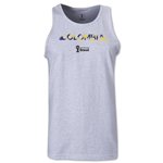 Colombia 2014 FIFA World Cup Brazil(TM) Men's Palm Tank Top (Ash)