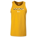 Colombia 2014 FIFA World Cup Brazil(TM) Men's Palm Tank Top (Gold)