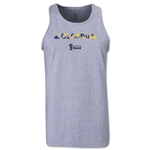 Colombia 2014 FIFA World Cup Brazil(TM) Men's Palm Tank Top (Grey)