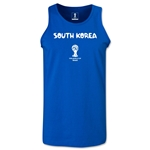 South Korea 2014 FIFA World Cup Brazil(TM) Men's Core Tank Top (Royal)
