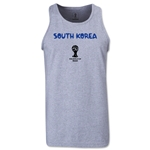 South Korea 2014 FIFA World Cup Brazil(TM) Men's Core Tank Top (Grey)