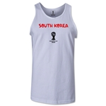 South Korea 2014 FIFA World Cup Brazil(TM) Men's Core Tank Top (White)