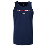 South Korea 2014 FIFA World Cup Brazil(TM) Men's Palm Tank Top (Navy)