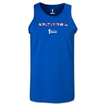 South Korea 2014 FIFA World Cup Brazil(TM) Men's Palm Tank Top (Royal)