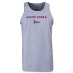 South Korea 2014 FIFA World Cup Brazil(TM) Men's Palm Tank Top (Grey)
