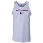South Korea 2014 FIFA World Cup Brazil(TM) Men's Palm Tank Top (White)