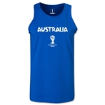 Australia 2014 FIFA World Cup Brazil(TM) Men's Core Tank Top (Royal)