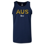 Australia 2014 FIFA World Cup Brazil(TM) Men's Elements Tank Top (Navy)
