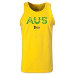 Australia 2014 FIFA World Cup Brazil(TM) Men's Elements Tank Top (Yellow)