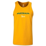 Australia 2014 FIFA World Cup Brazil(TM) Men's Palm Tank Top (Gold)