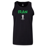Iran 2014 FIFA World Cup Brazil(TM) Men's Core Tank Top (Black)