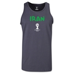 Iran 2014 FIFA World Cup Brazil(TM) Men's Core Tank Top (Dark Grey)