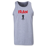 Iran 2014 FIFA World Cup Brazil(TM) Men's Core Tank Top (Grey)