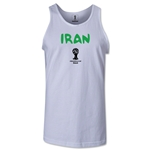 Iran 2014 FIFA World Cup Brazil(TM) Men's Core Tank Top (White)