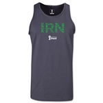 Iran 2014 FIFA World Cup Brazil(TM) Men's Elements Tank Top (Dark Grey)