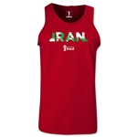 Iran 2014 FIFA World Cup Brazil(TM) Men's Palm Tank Top (Cardinal)