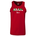 Iran 2014 FIFA World Cup Brazil(TM) Men's Palm Tank Top (Cardinal Red)
